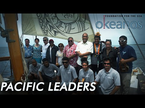 Pacific Leaders on Okeanos Marshall Islands