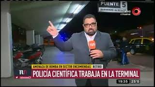 Evacuaron la terminal por amenaza de bomba