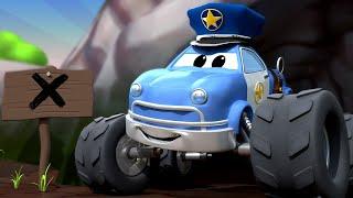 Детские мультфильмы с грузовиками Малькольм монстр трак ДЕТЕКТИВ унюхал что то вкусненькое