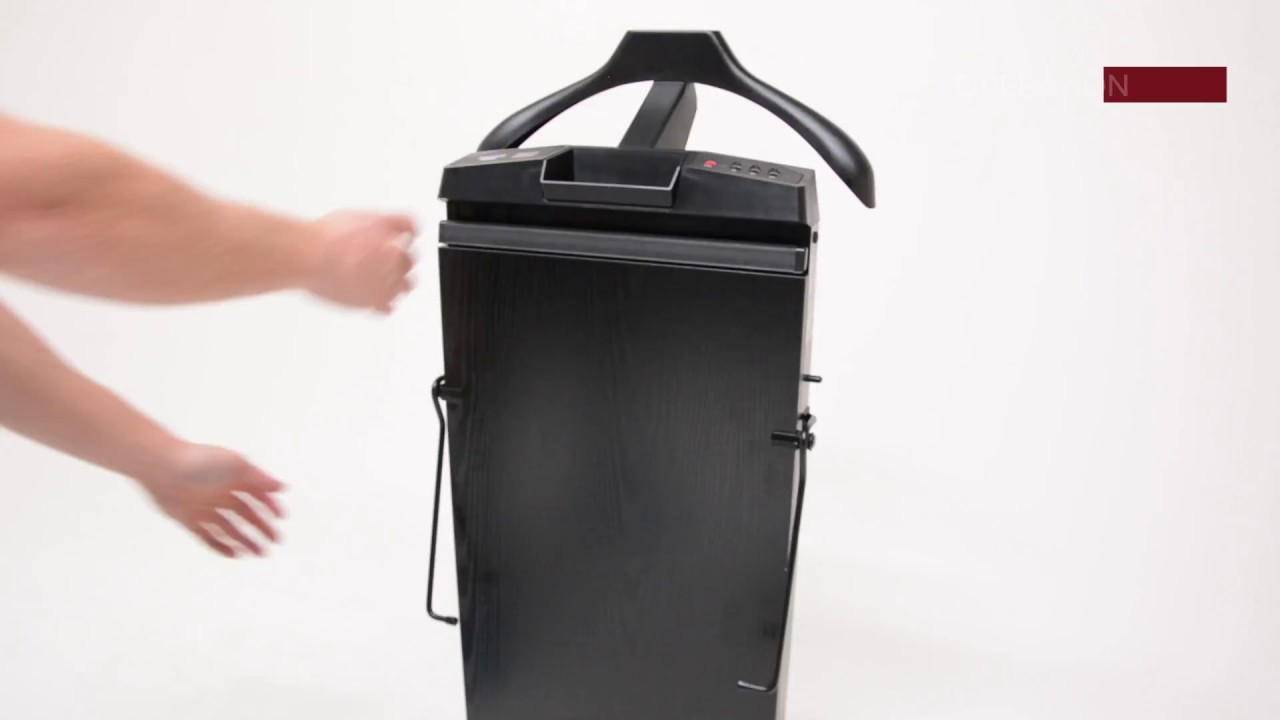 The Corby 7700 Trouser Press In Black Ash Youtube