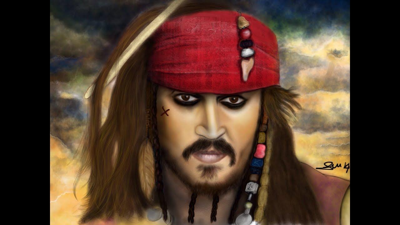 Come disegnare jack sparrow pirati dei caraibi youtube for Disegni di case dei caraibi