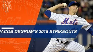 Jacob deGrom strikes out 269 batters in 2018