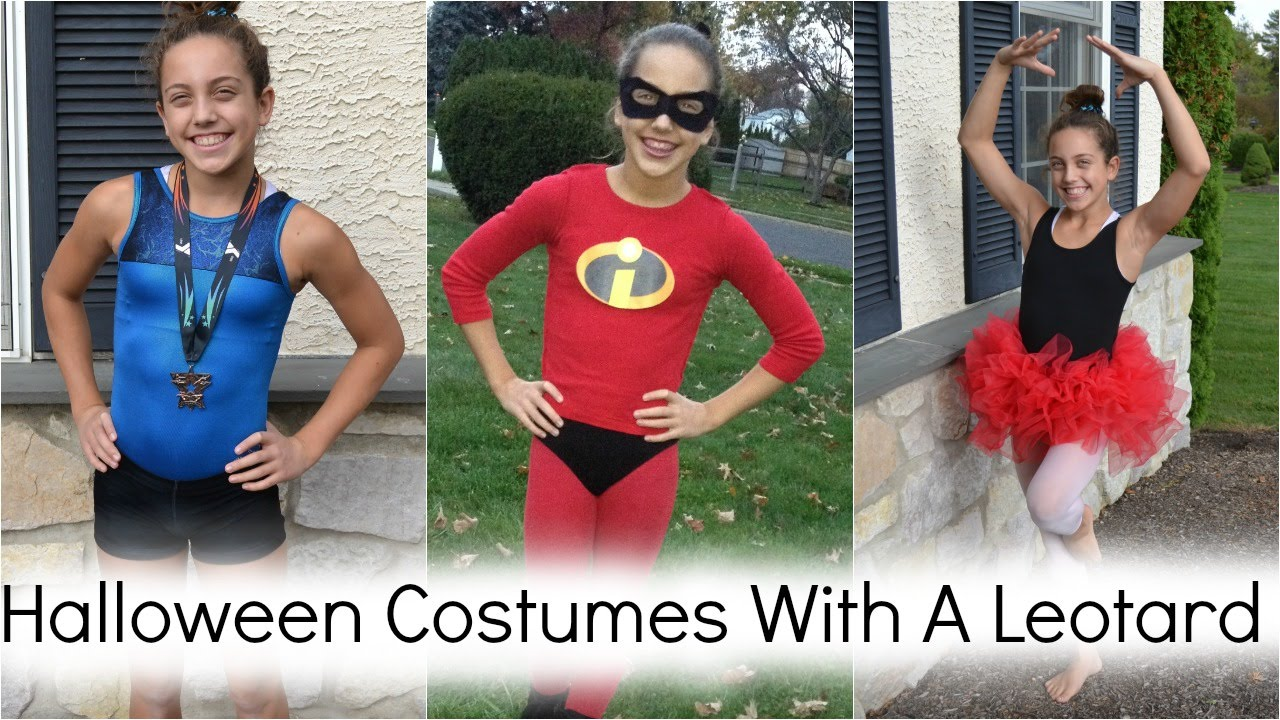 Zombie Gymnast Halloween Costume.Last Minute Halloween Costumes