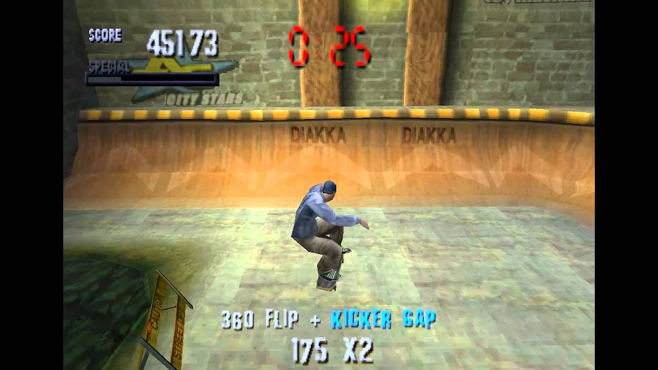 Image result for Tony Hawk Pro Skater ps1