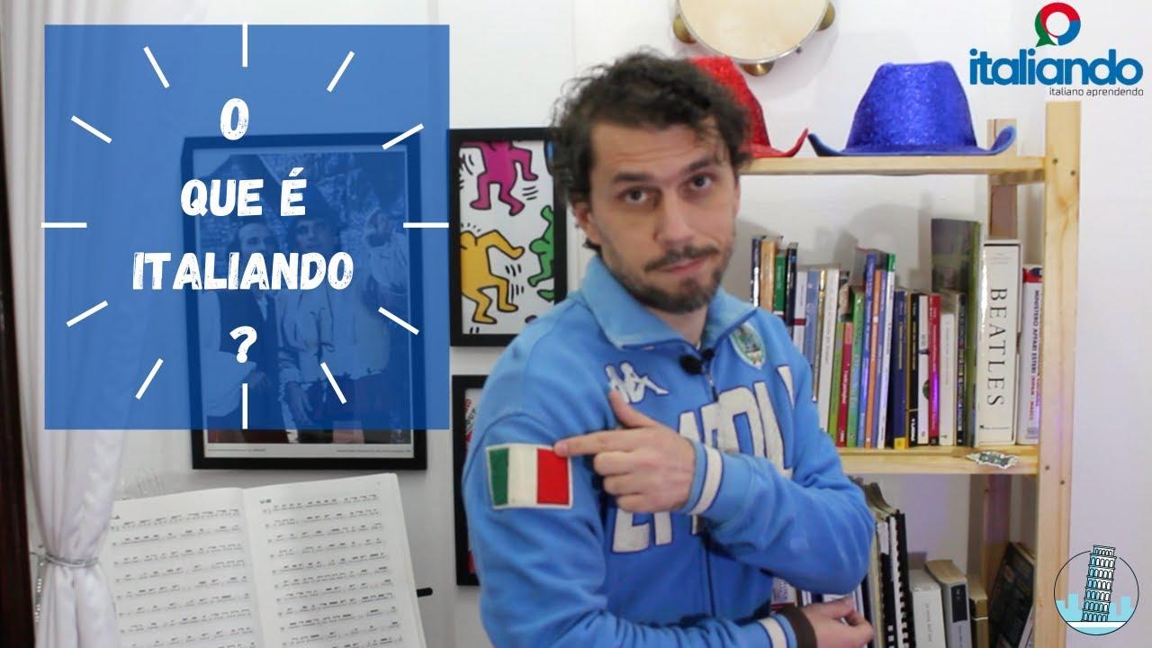 O que é italiando? Apresentação