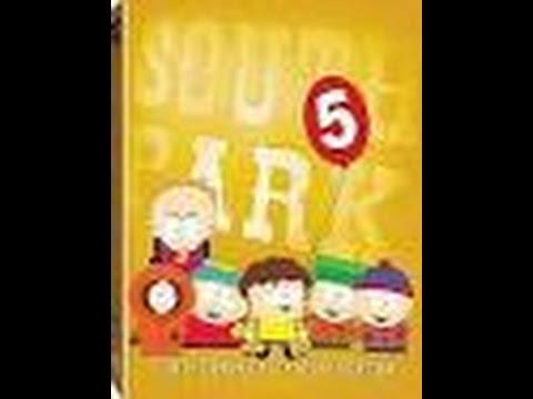 South Park Season 5 Discs 1 2 And 3 Dvd Menus