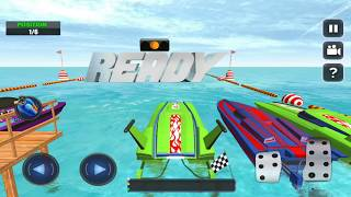 Speed Boat Extreme Turbo Race 3D Mobile Game