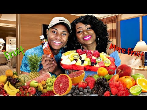 Variety Fruit Mukbang with It's Darius