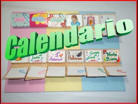Haz tu propio calendario personalizado youtube - Como hacer tu propio calendario ...