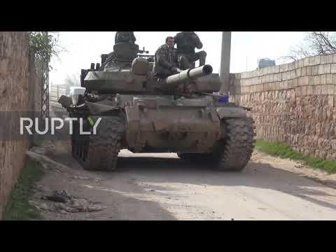 Syria: SAA forces advance towards Saraqib