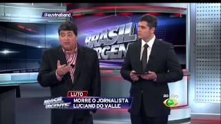 "Trecho ""Brasil Urgente"" + ""Jornal da Band"" 19/04/2014"