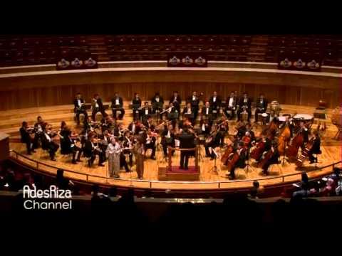 Delibes - Flower Duet - Aning Katamsi & Binu D. Sukarman ( Jakarta Philharmonic Orchestra )