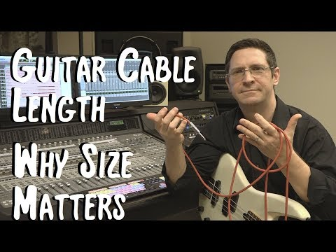 Guitar Cable Length - Why Size Matters