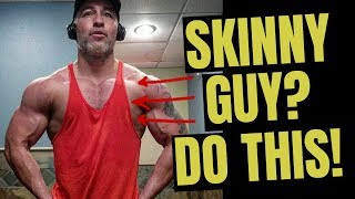 How To Build Muscle For Skinny Guys (Hardgainer? WATCH THIS!)