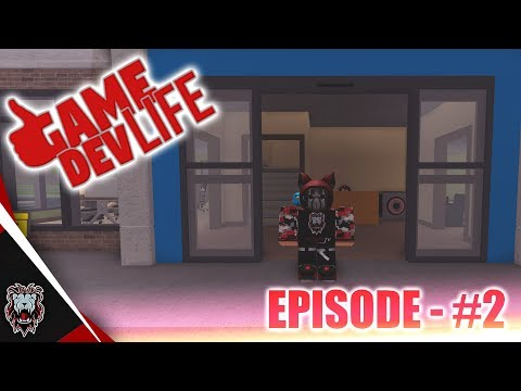 ROBLOX: Game Dev Life! | Upgrading Office & Making Research Area! | Episode 2