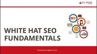 All White Hat SEO Webinar