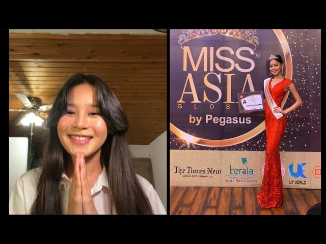 Zomkey Tenzin on her Journey into Beauty Pageant