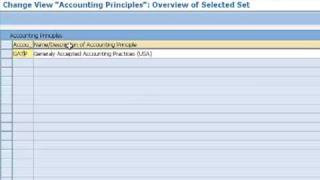 Define accounting Principle