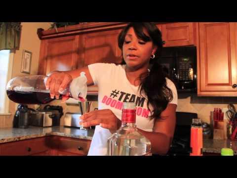 Trina Braxton's 4 O'Clock Rock Blueberry Cosmo