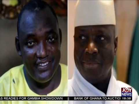 Adama Barrow to be sworn-in 4pm at Dakar in Senegal - News Desk on Joy News (19-1-17)