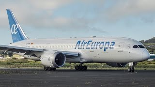 [CLOSE-UP] Air Europa || B787 Dreamliner || First Time In Tenerife!