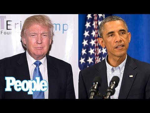 What Does Barack Obama Really Think Of Trump? 'He's Nothing But A Bullsh—ter' | People NOW | People