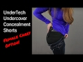 Female Carry Options | UnderTech Women's Concealment Shorts Review