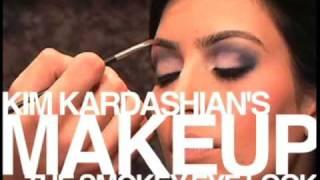 kim kardashian smokey eyes tutorial