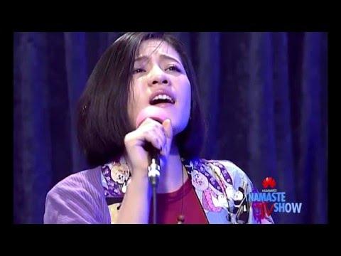 Japanese Singer Aoi Sano performs Shanti Song LIVE (HUAWEI Namaste TV Show)