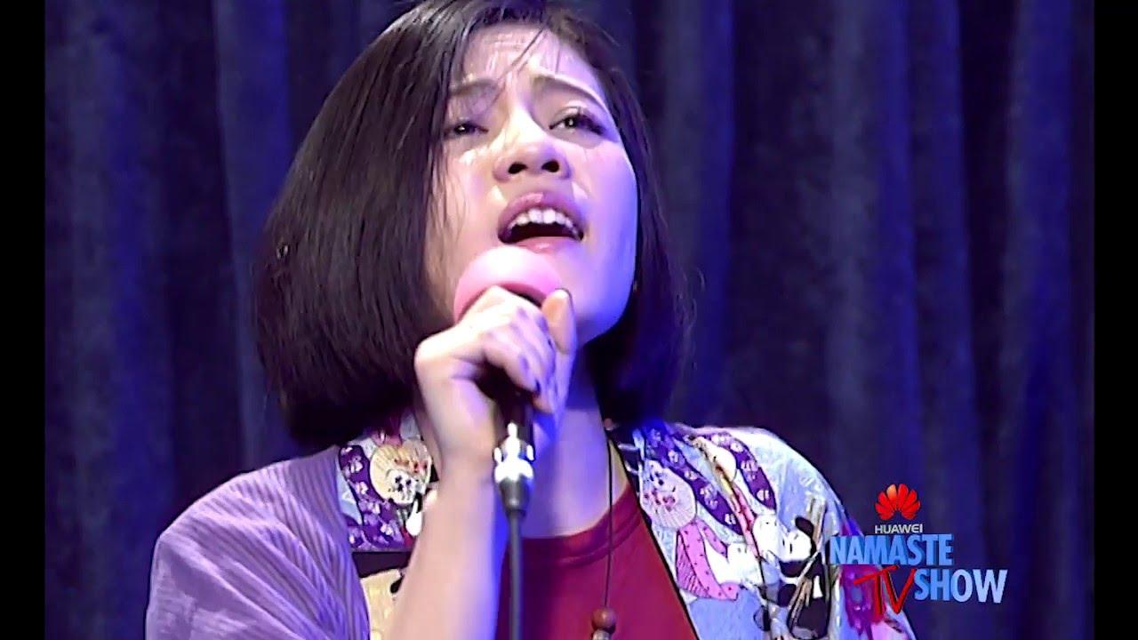 Japanske Singer Aoi Sano Udfører Shanti Song live Huawei-3709