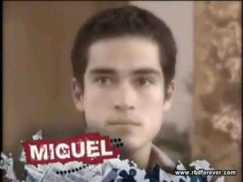REBELDE (Conoce a Miguel Arango) interpretado por Alfonso Herrera.