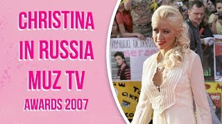 Christina Aguilera Live at МУЗ ТВMUZ TV awards in Moscow, Russia 060107