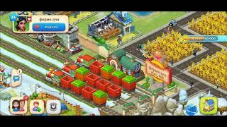 ТАУНШИП город и ферма #550  Знакомство с моим городом  Игровое видео