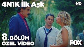 Sinan, Müdür ve Ece arasındaki anlaşmayı annesine söyledi! 4N1K İlk Aşk 8. Bölüm