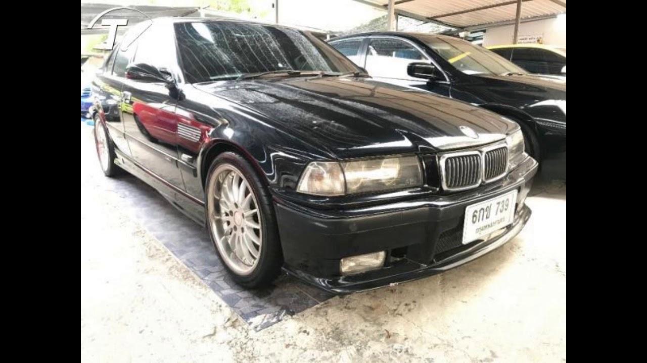 BMW 318i โฉม E46 ปี 2001  สีดำ เกียร์ออโต้ ติดแก๊ส LPG **ราคา 99,000 บาท**