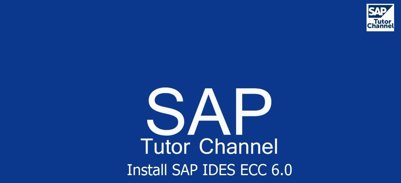 Installation of SAP IDES ECC 6.0 with EHP7