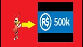 Buzz The Bee give 500K Robux | Roblox