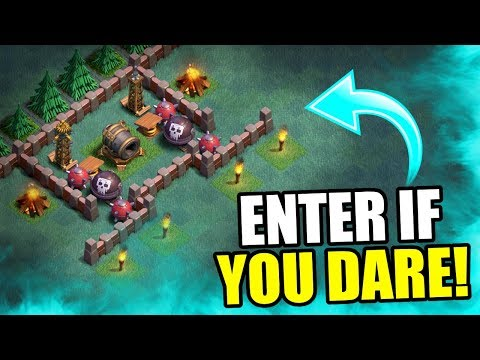 NEW MAX LEVEL MEGA MINE TRAP!! - Clash Of Clans - EPIC BUILDER BASE TROLL!