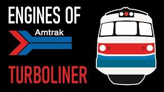 Engines of Amtrak - Turboliner [REMAKE]