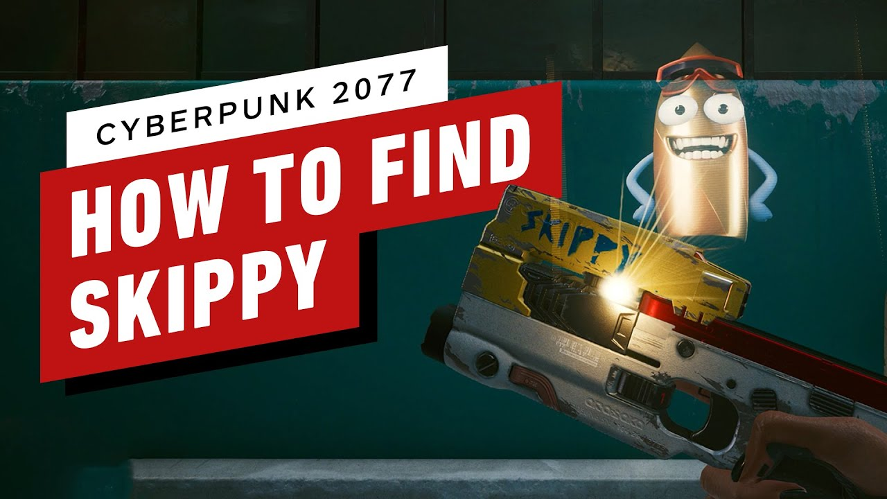 Cyberpunk 2077: How to Find and Use Skippy