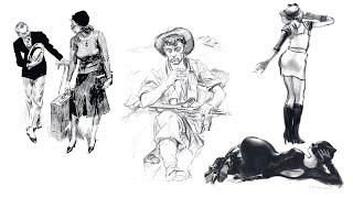 COSTUMED FIGURE DRAWING COURSE TRAILER