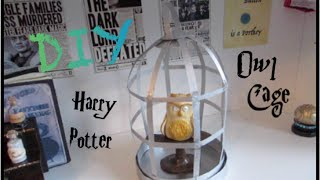 DIY Harry Potter Prop I Paper Craft Origami Owl Cage