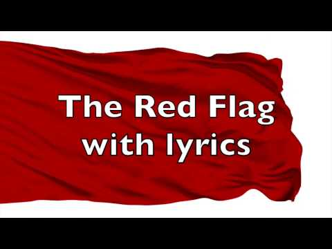 The Red Flag with lyrics