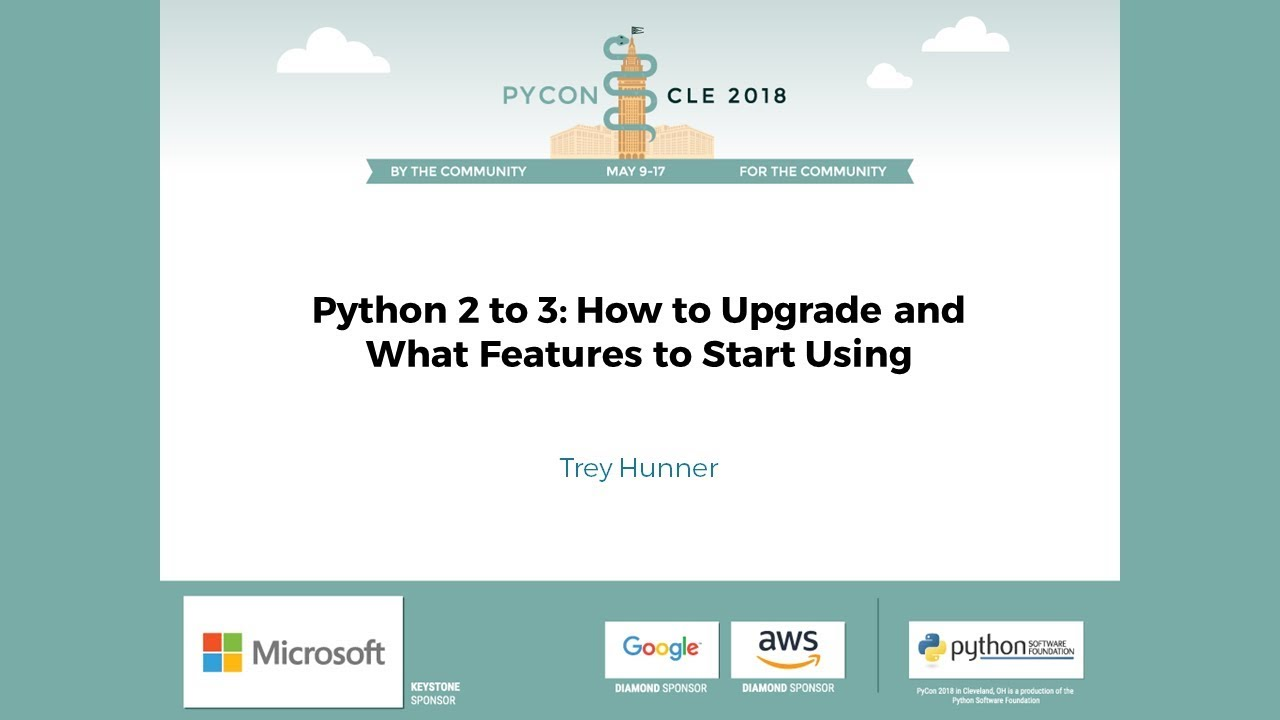 Image from Python 2 to 3: How to Upgrade and What Features to Start Using