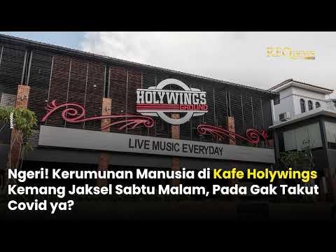 Viral! Usai Buat Kerumunan, Kafe Holywings Disegel Satpol PP