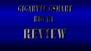 Gigabyte GSmart Rio R1 Review in Limba Romana