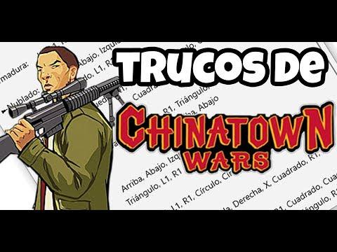 TODOS LOS TRUCOS DE GTA CHINATOWN WARS (PSP | DS | IOS | ANDROID)