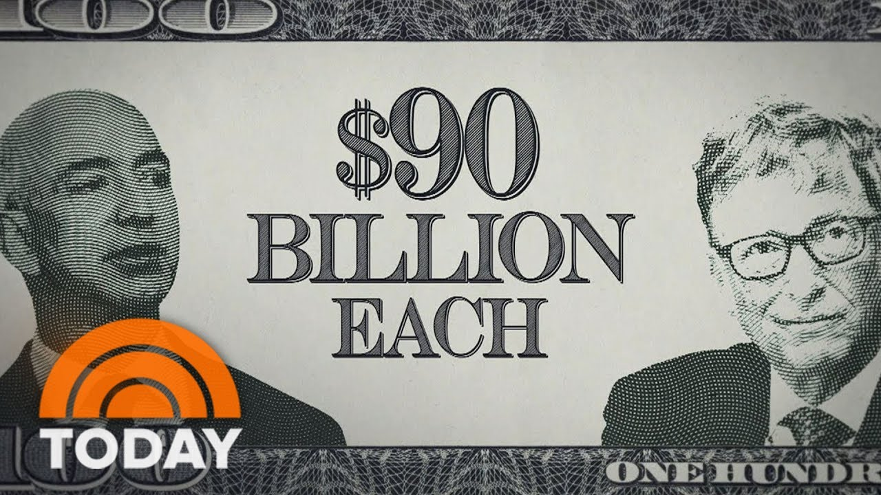 Jeff Bezos Briefly Overtakes Bill Gates As World's Richest Person | TODAY