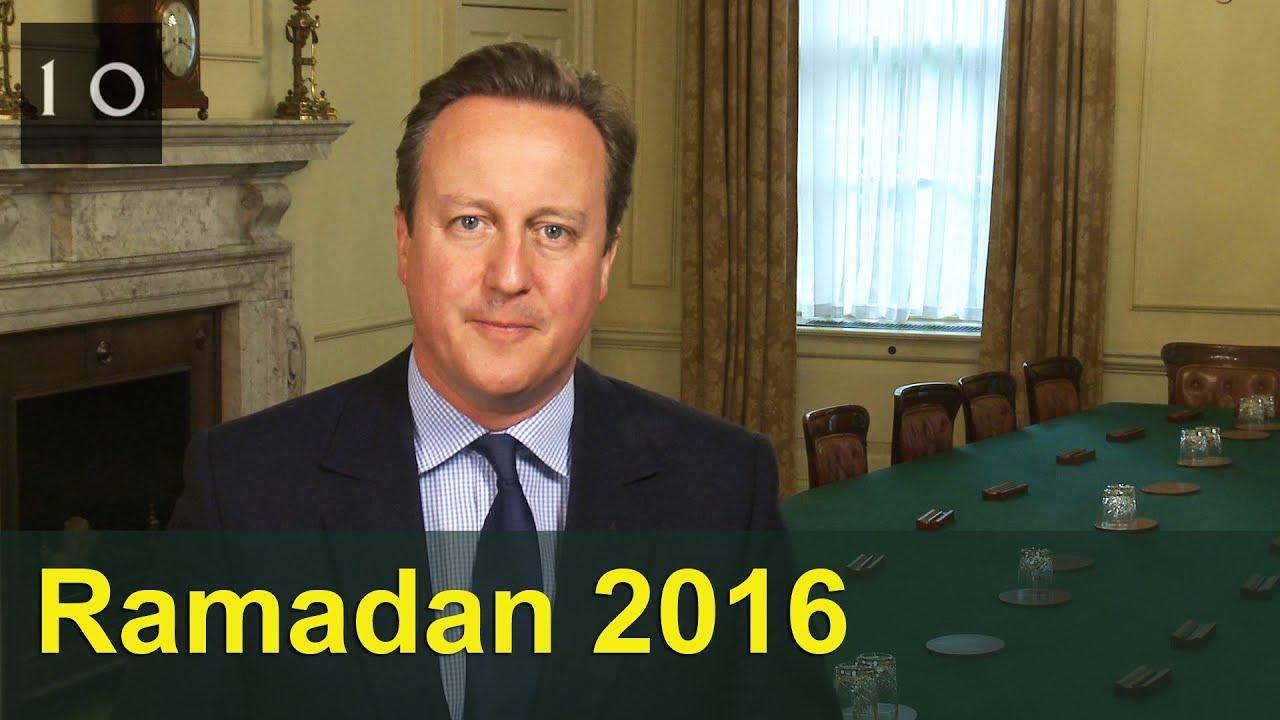 Uk muslims press for peace at 10 downing street - Ramadan 2016 David Cameron S Message 10 Downing Street
