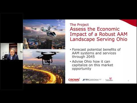 Infrastructure to Support Advanced Autonomous Aircraft Technologies in Ohio  An Economic Impact Anal